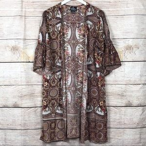 Angie | Boho Ruffle Kimono